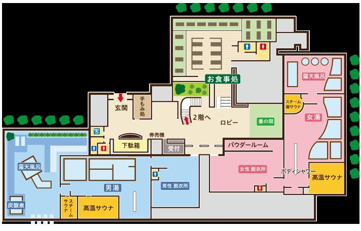 1階館内図