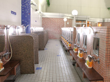 女性洗い場